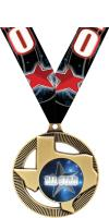 """2"""" Texas State Insert Medals"""
