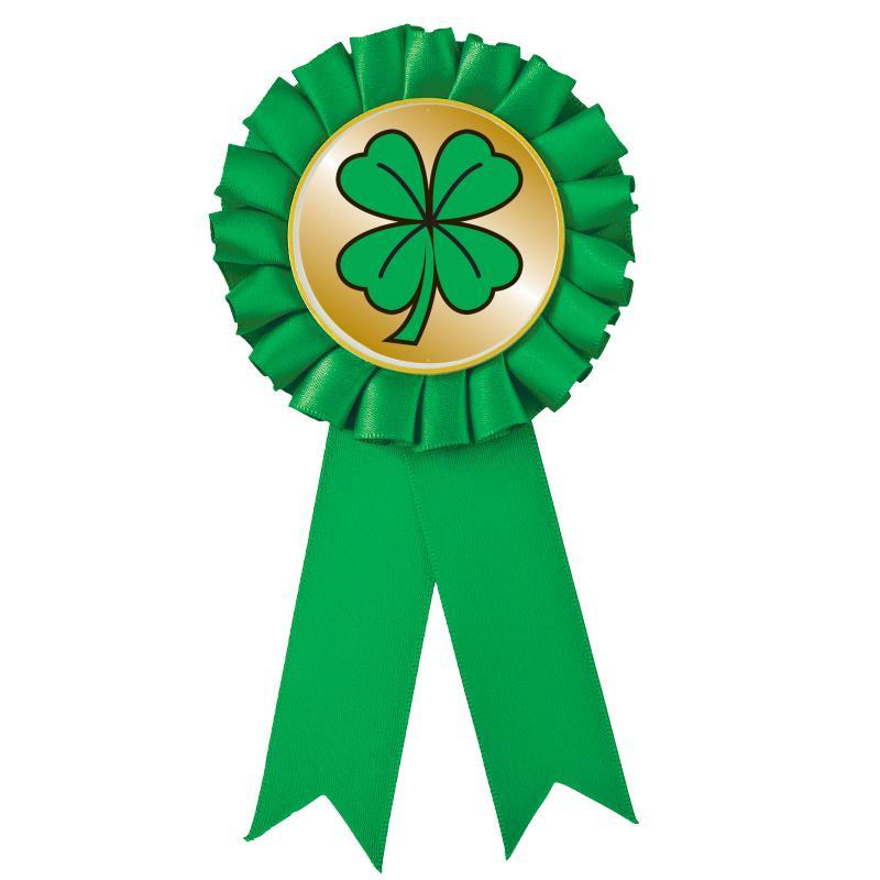 Green Rosette Party Favor