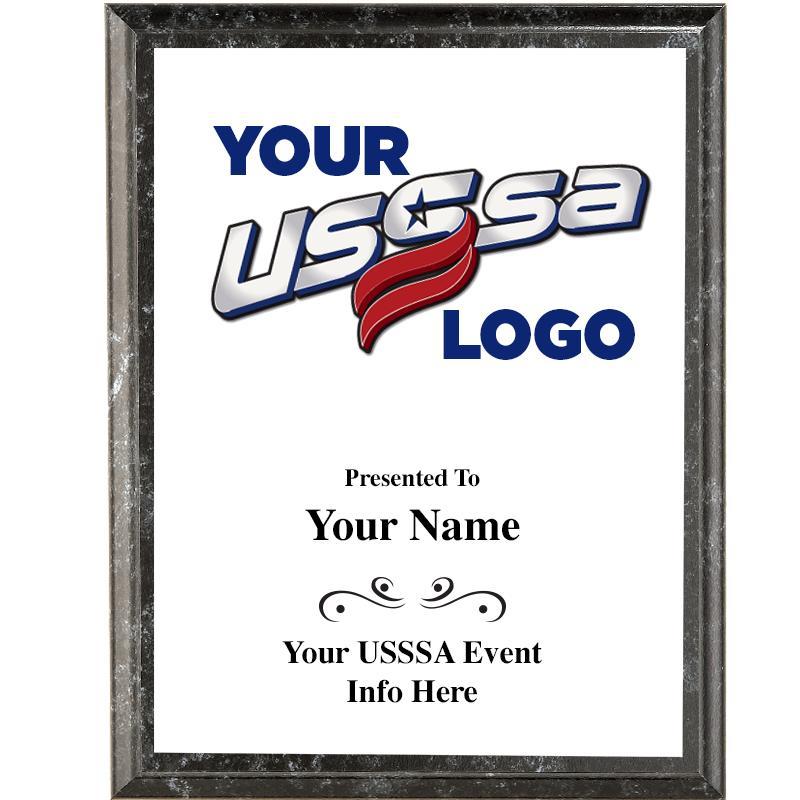 5X7 USSSA WHITE COLOR TRANSFER