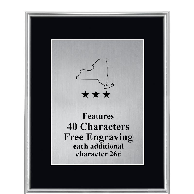 SILVER VOGUE FRAME PLAQUE