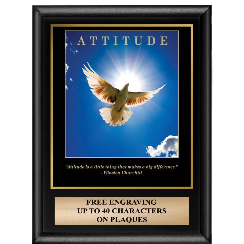 Attitude Inspiration Plaque