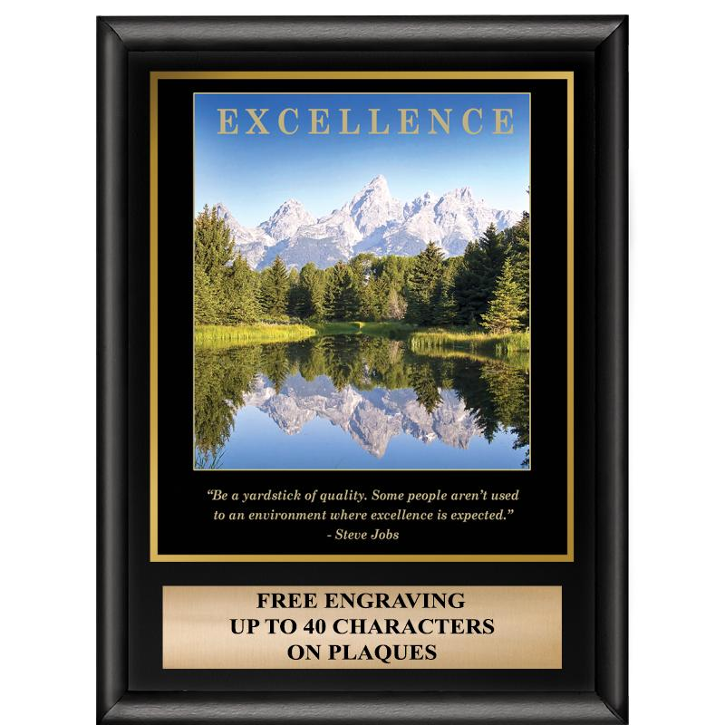 Excellence Inspiration Plaque