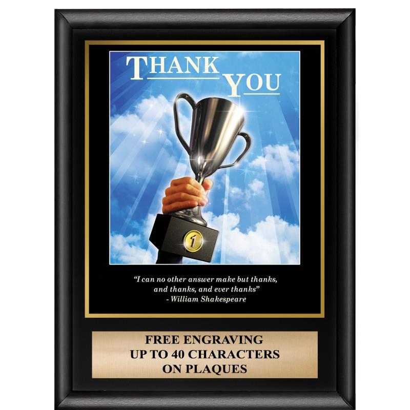 Thank You Inspiration Plaque