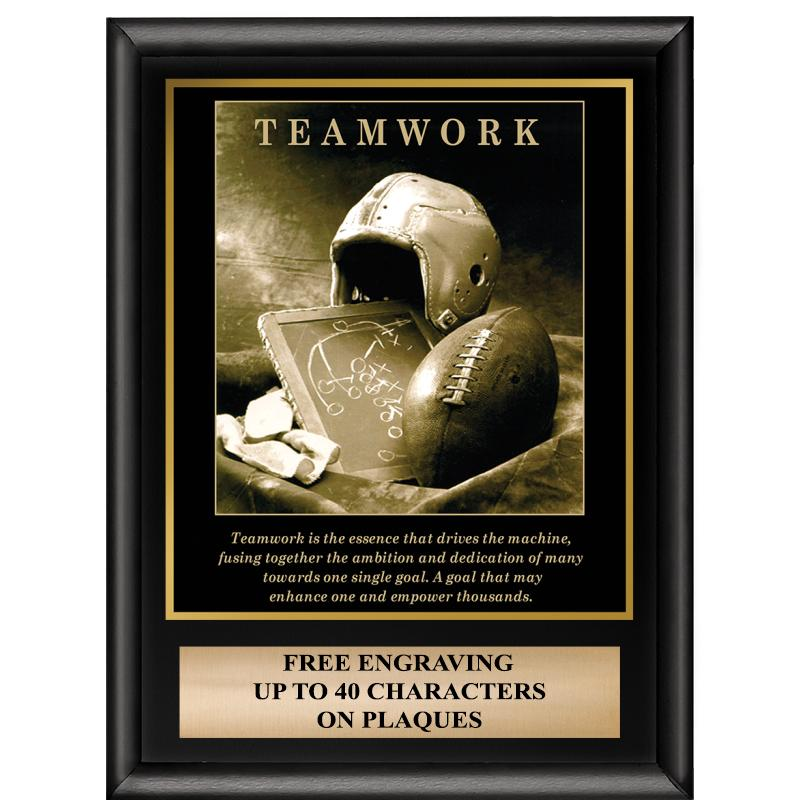 Teamwork Inspiration Plaque