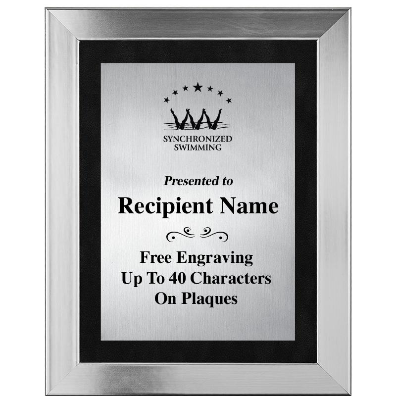 Stainless Steel Omega Frame Plaque