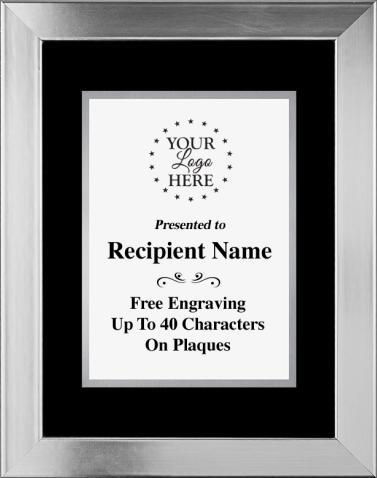 Corporate Plaques   Platinum Frame Plaque