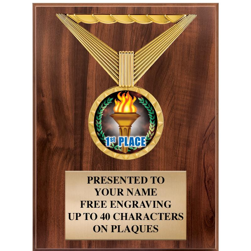 6x8 REGALIA WOOD INSERT PLAQUE