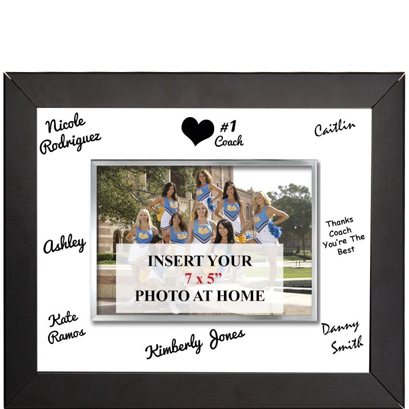 Horizontal Signature Frame Plaque