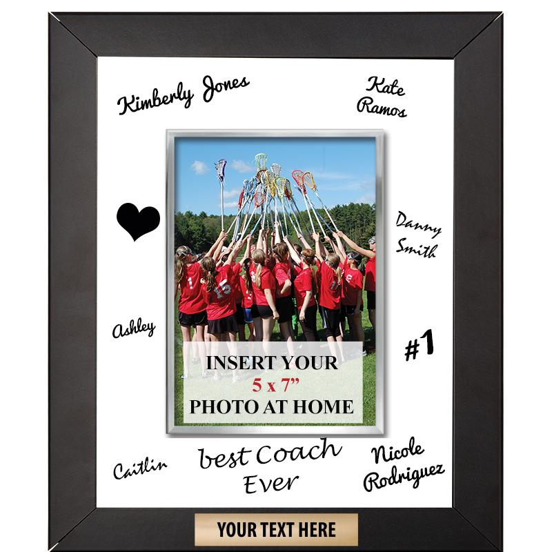 Vertical Signature Frame Plaque