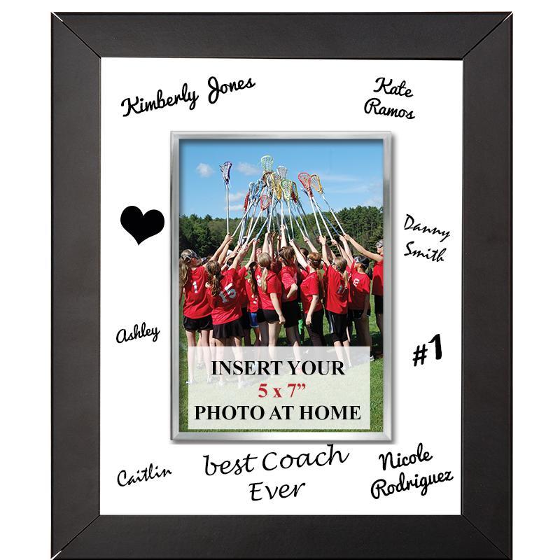 Vertical Signature Frame Plaque