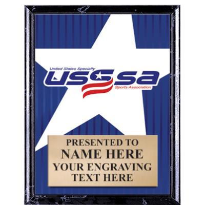 """5""""X7"""" USSSA SHOW STOPPER PLQ"""