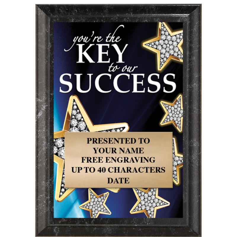 You're The Key To Success Show Stopper Plaque