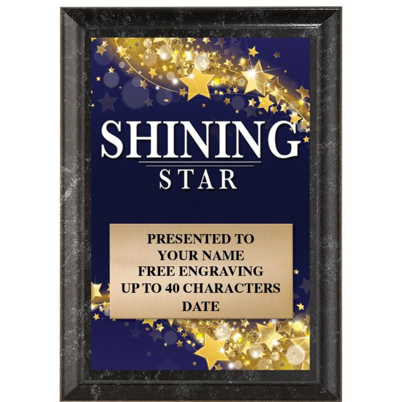 Shining Star Show Stopper Plaque