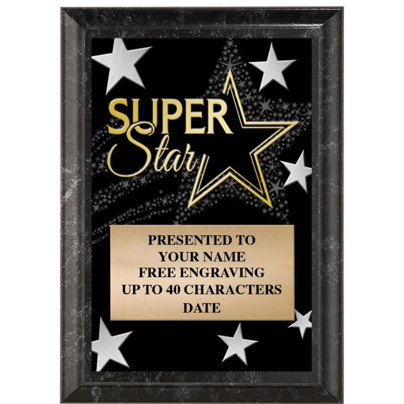 Super Star Show Stopper Plaque