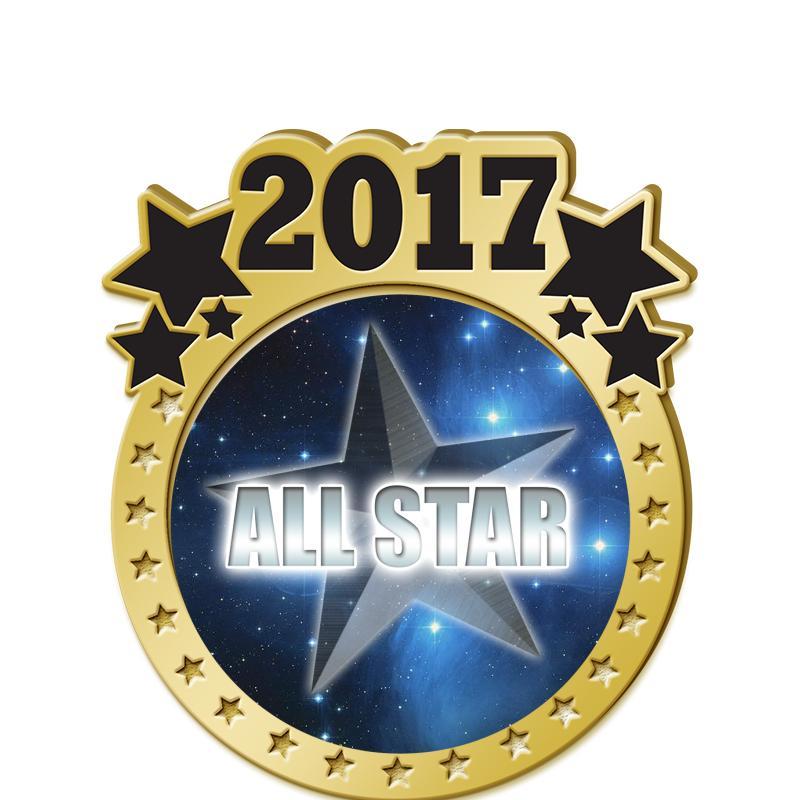 "1.5"" 2017 STAR INSERT PIN"