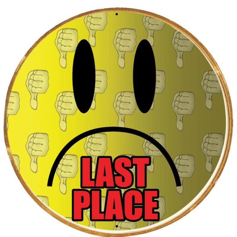 Last Place Lapel Pins Crown Awards