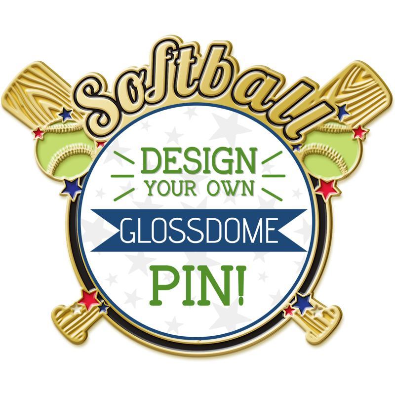 """1.7"""" GLOSSDOME SB INS PN"""
