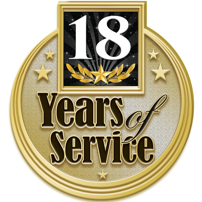 "1.2""Wx1.3""H MULTI YRS SERV PIN"