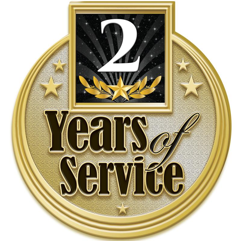"1.25""MULTI YEARS SERVICE PN GD"