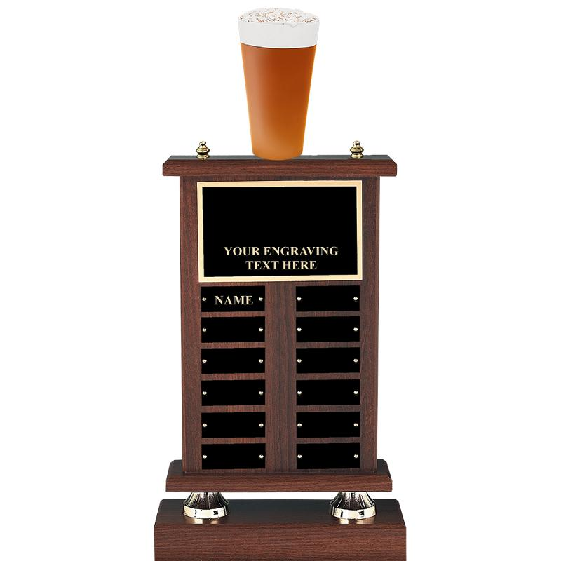 "22"" BEER PERPETUAL TROPHY"