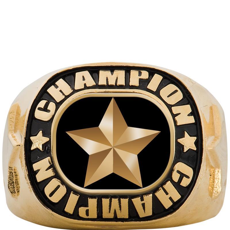 CHAMPIONSHIP GOLD RING SIZE 6