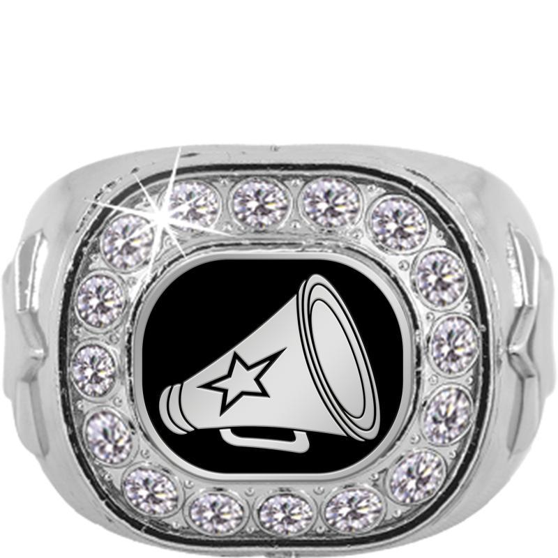 Silver Crystal Finalist Insert Ring