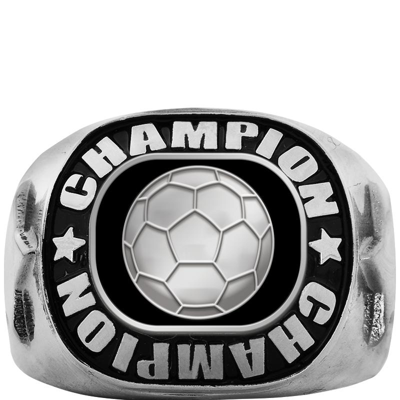 CHAMPION SILVER RING SIZE 6