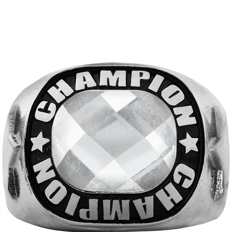 Silver Championship Insert Ring