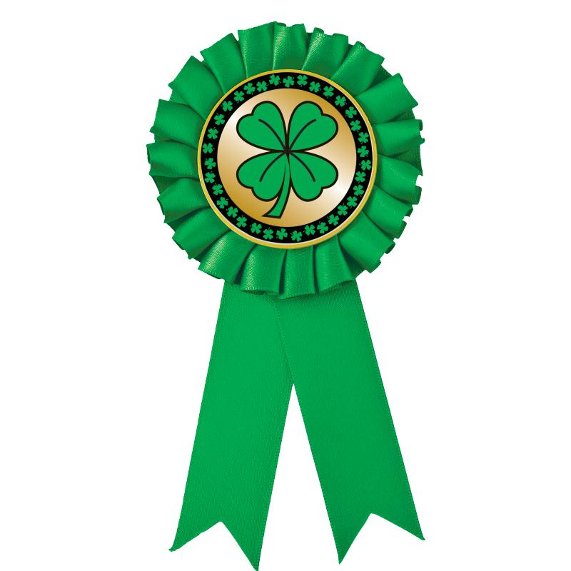 Green Rosette Ribbon