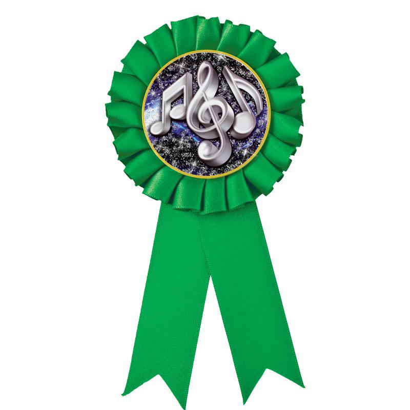 Green Rosette Ribbon