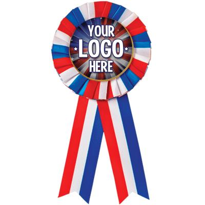 Red/White/Blue Rosette Ribbon