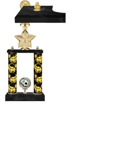 2 Poster Idol Star Trophies