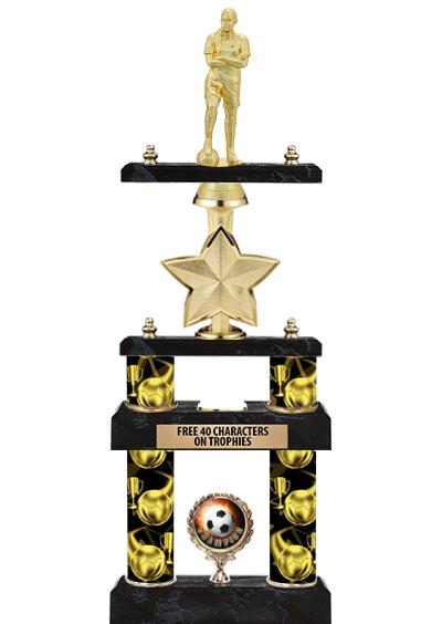 2 Poster Idol Star Trophies
