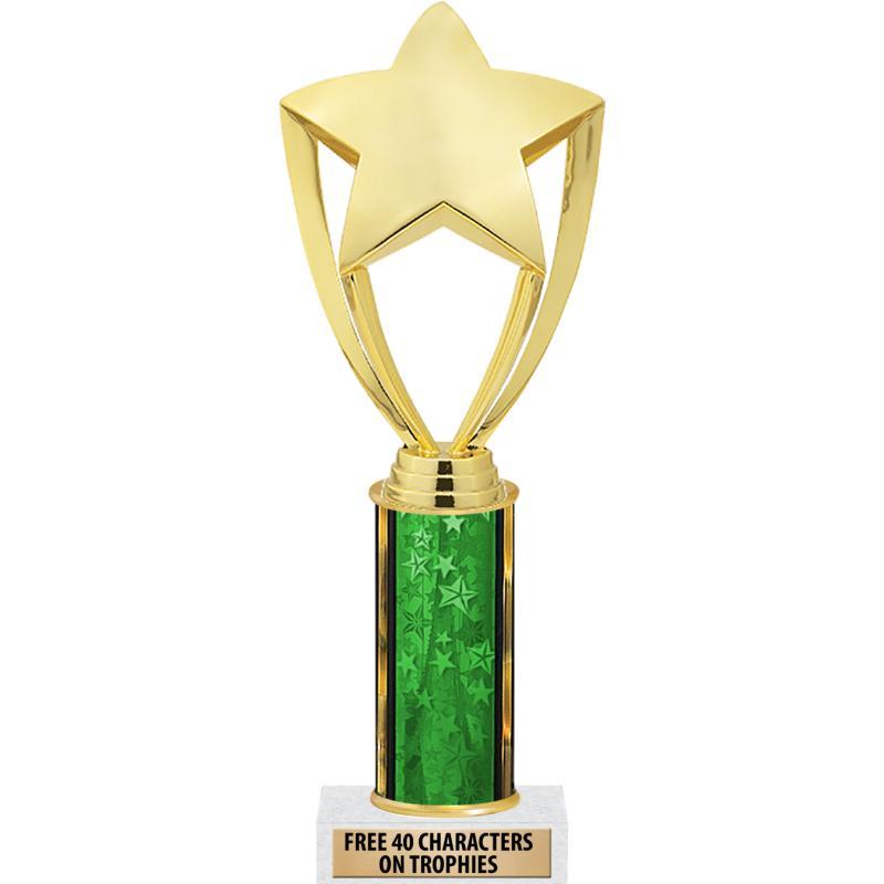 """10""""GREEN STARS-CLASSIC SERIES"""
