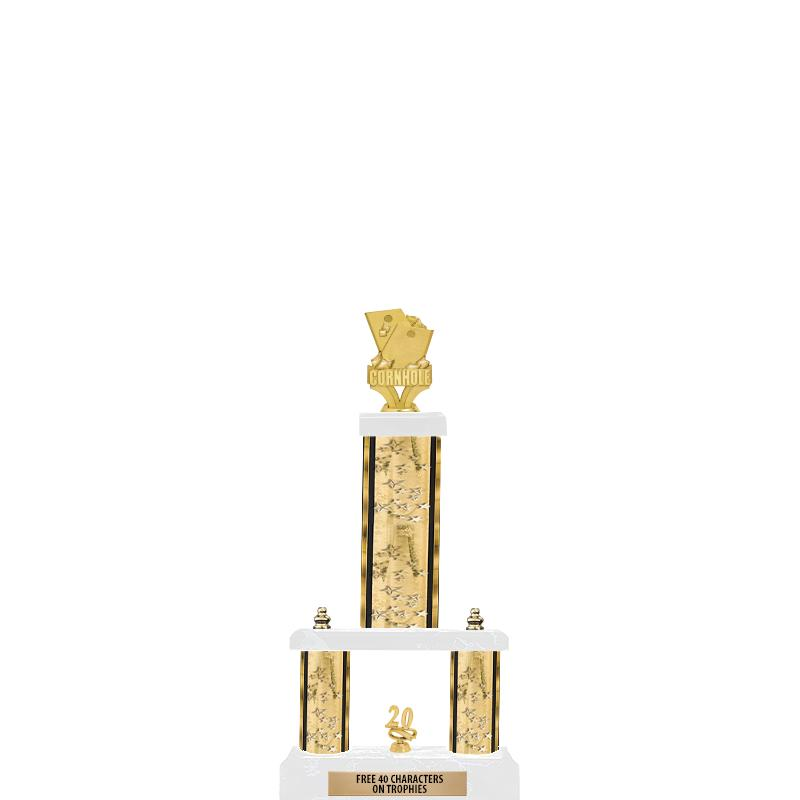 "19""GOLD/GD-STARS- 2 TIER/FIG"