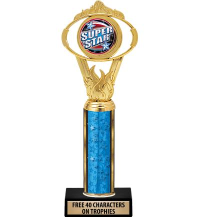 Classic Oval Insert Trophies