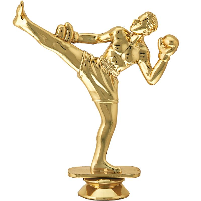 """6"""" Participation Trophy On White Marble Base"""