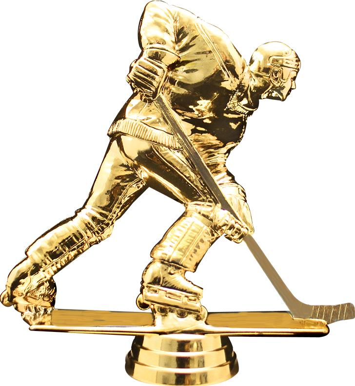 "6"" Participation Trophy On Black Marble Base"