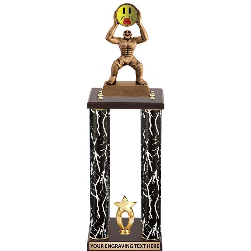 """26"""" Fantasy Monster 4 Poster Trophy"""