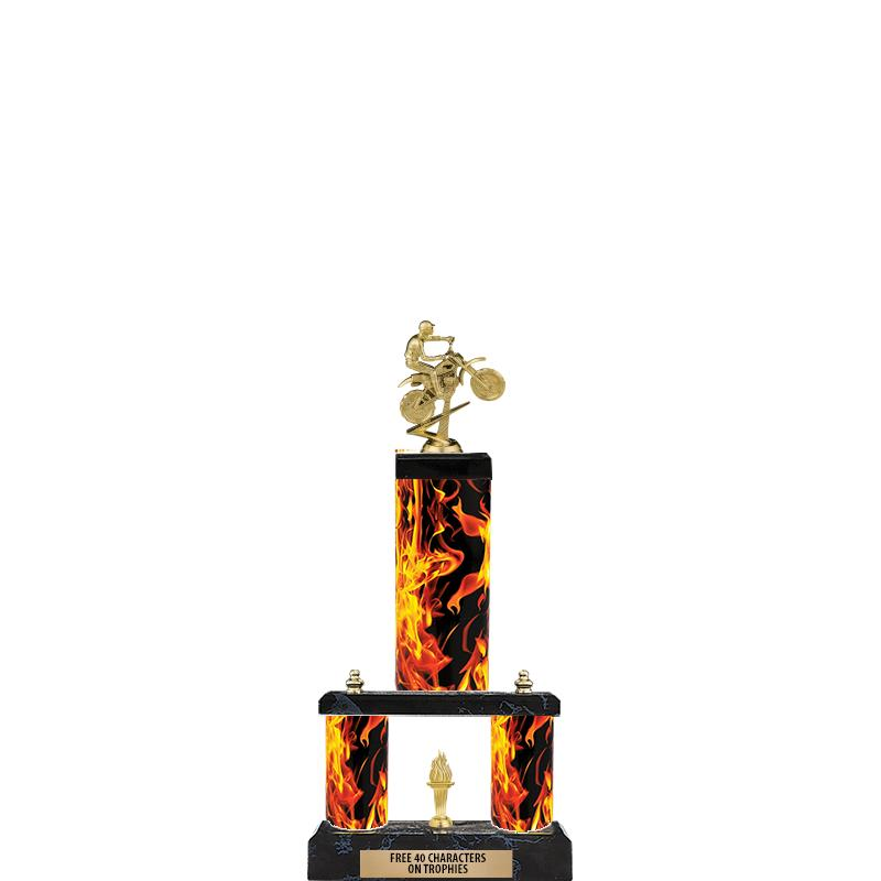 "19"" INFERNO - 2 TIER/FIG"