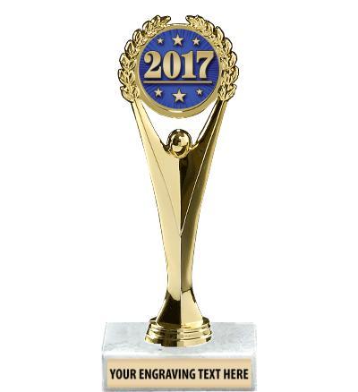 """9"""" Achievement Insert Trophy"""
