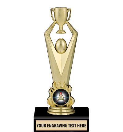 """6"""" Achievement Cup Insert Trophy"""
