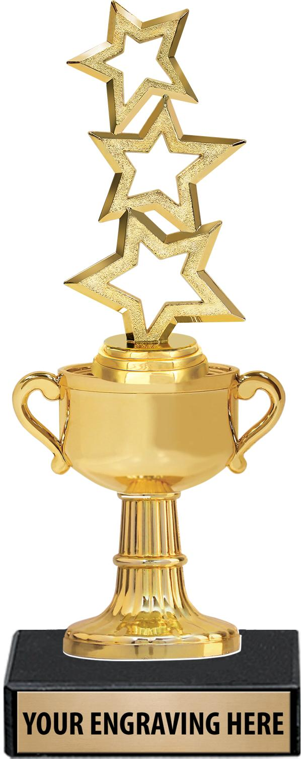 """8.5""""GOLD CUP TROPHY"""