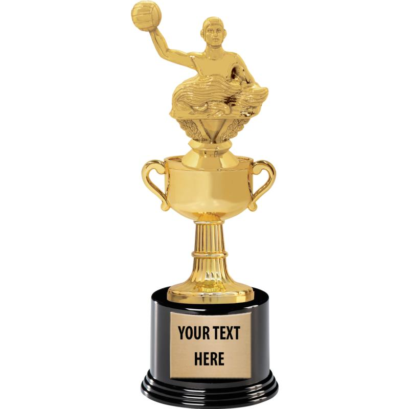 """11.25""""CUP ON BLACK ROUND BASE"""
