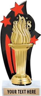 Backdrop Trophy - Red