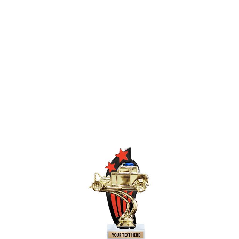 RED/BLACK BACKDROP TROPHY