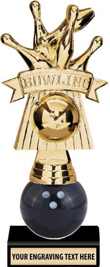"""7"""" Xtreme Bowling Trophy"""