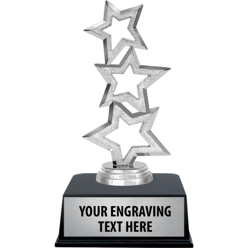 What words or phrases are suitable for an award plaque?