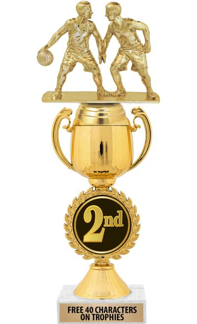 """12"""" 2nd Place Chaplet Cup Trophy"""