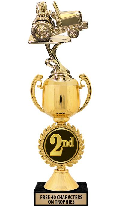 "12"" 2nd Place Chaplet Cup Trophy"
